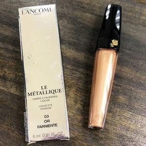 Last One! NIB Lancome gold eyeshadow liquid